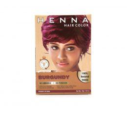 Burgundy hair Dye Color 100% Natural Dye No Ammonia No Peroxide