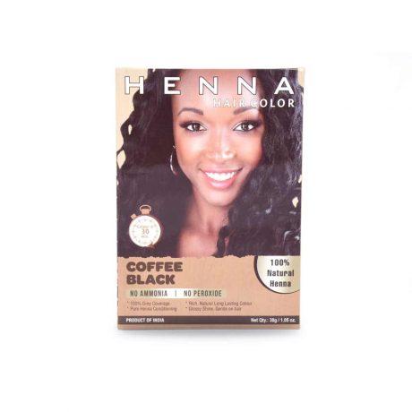 Henna Hair Dye Black Coffee hair Color 100% Pure & Natural Henna