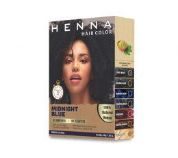 Jimy Henna midnight blue Hair Color for Men & Women