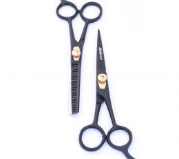 Barber Hair Cutting Scissor & Thinning Scissor Set use for barber shop