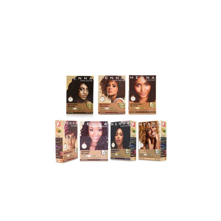 Natural Hair Dye Colours - Ammonia Peroxide Free use for Men & Women
